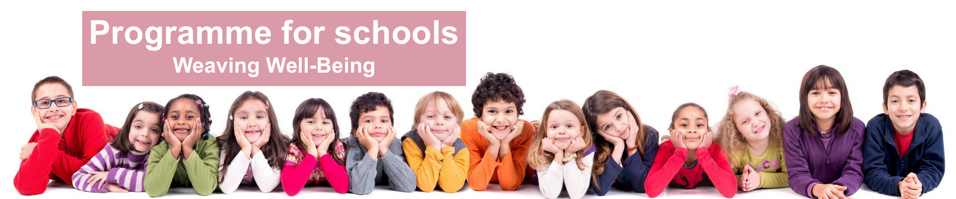Programme for Schools – Weaving Well-Being